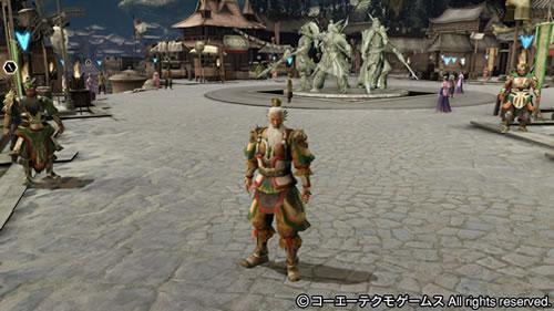 PS4基地シンボル五虎将軍の画像