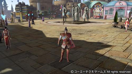 PS4基地シンボル四都督の画像(遊園地テーマ)