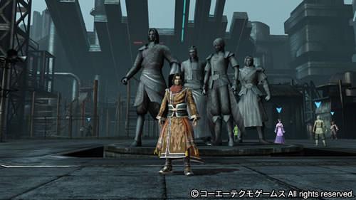 PS4基地シンボル四都督と呂蒙の画像(ミリタリーテーマ)