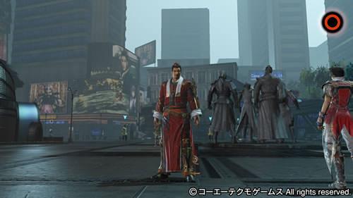 PS4基地シンボル四都督と呂蒙の画像(SF風テーマ)