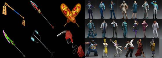 晋・その他武将のオリジナル衣装と異色武器1・2のトップ画像