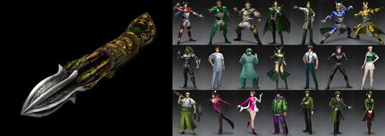 螺旋弩と蜀オリジナル衣装一覧画像