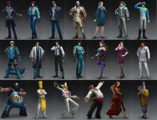 晋とその他勢力オリジナル衣装のまとめ画像