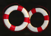 救命浮き輪の画像