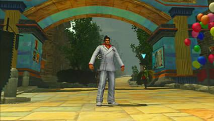 遊園地風テーマの入口画像(遠め)