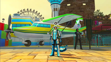 遊園地風テーマの交易所の画像