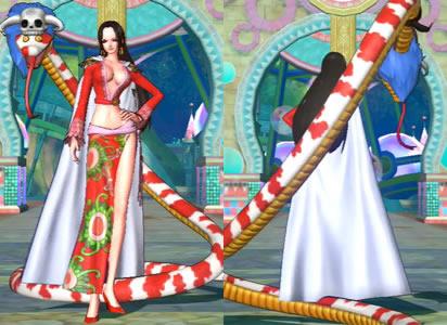 ハンコック女々島衣装の全身画像